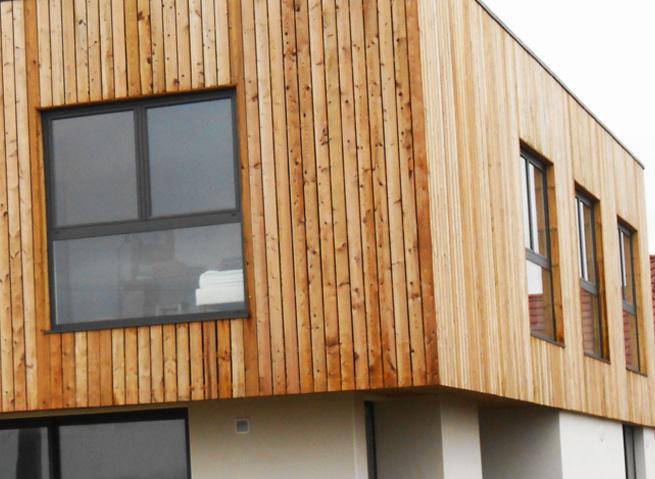 extension en bois de maison Lyon